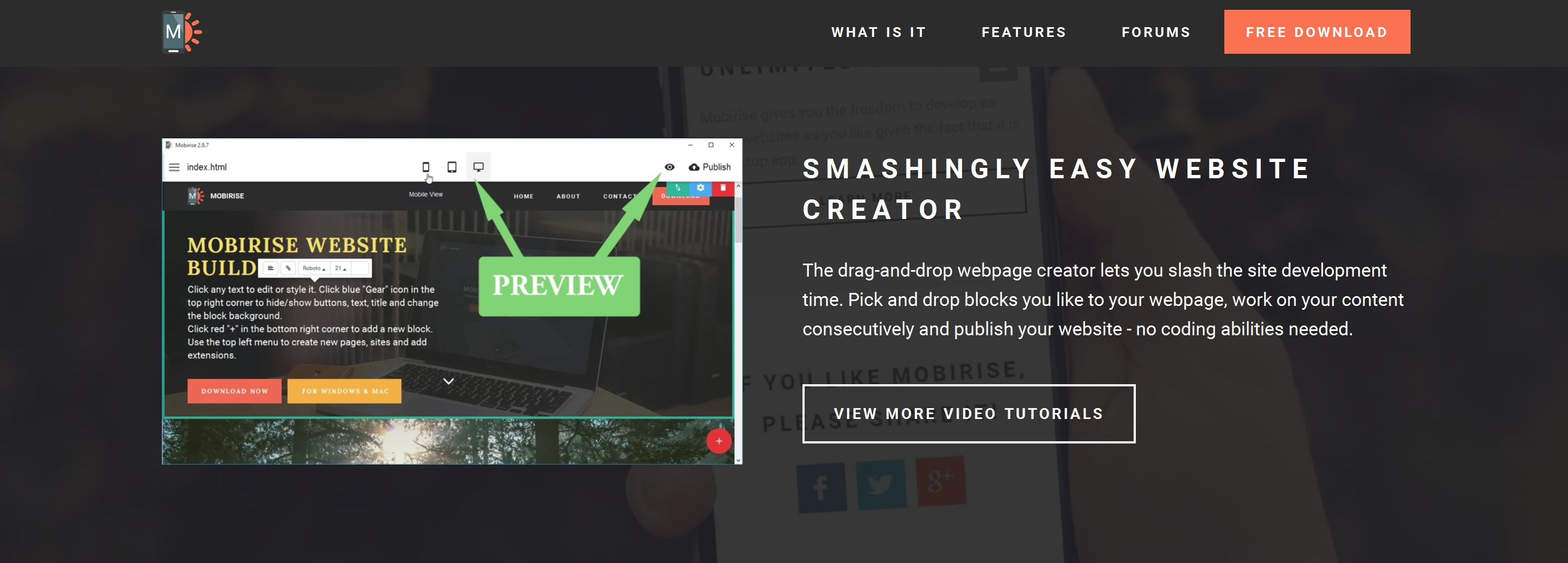 Mobile Easy Website Creator Review