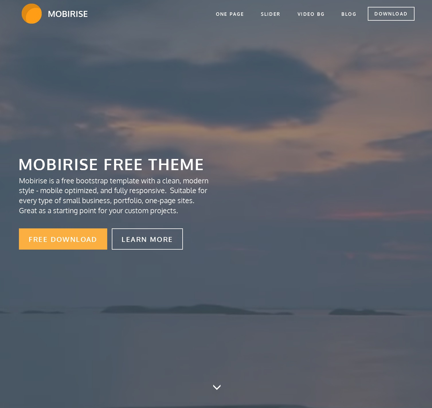 Mobile Bootstrap Design Theme