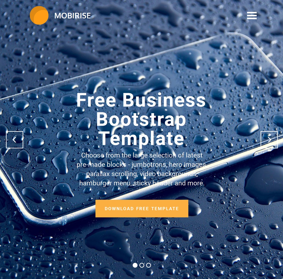 Free Responsive Site Templates Themes Extensions