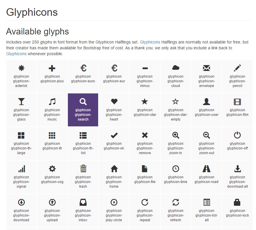 Bootstrap Icons  authoritative documentation