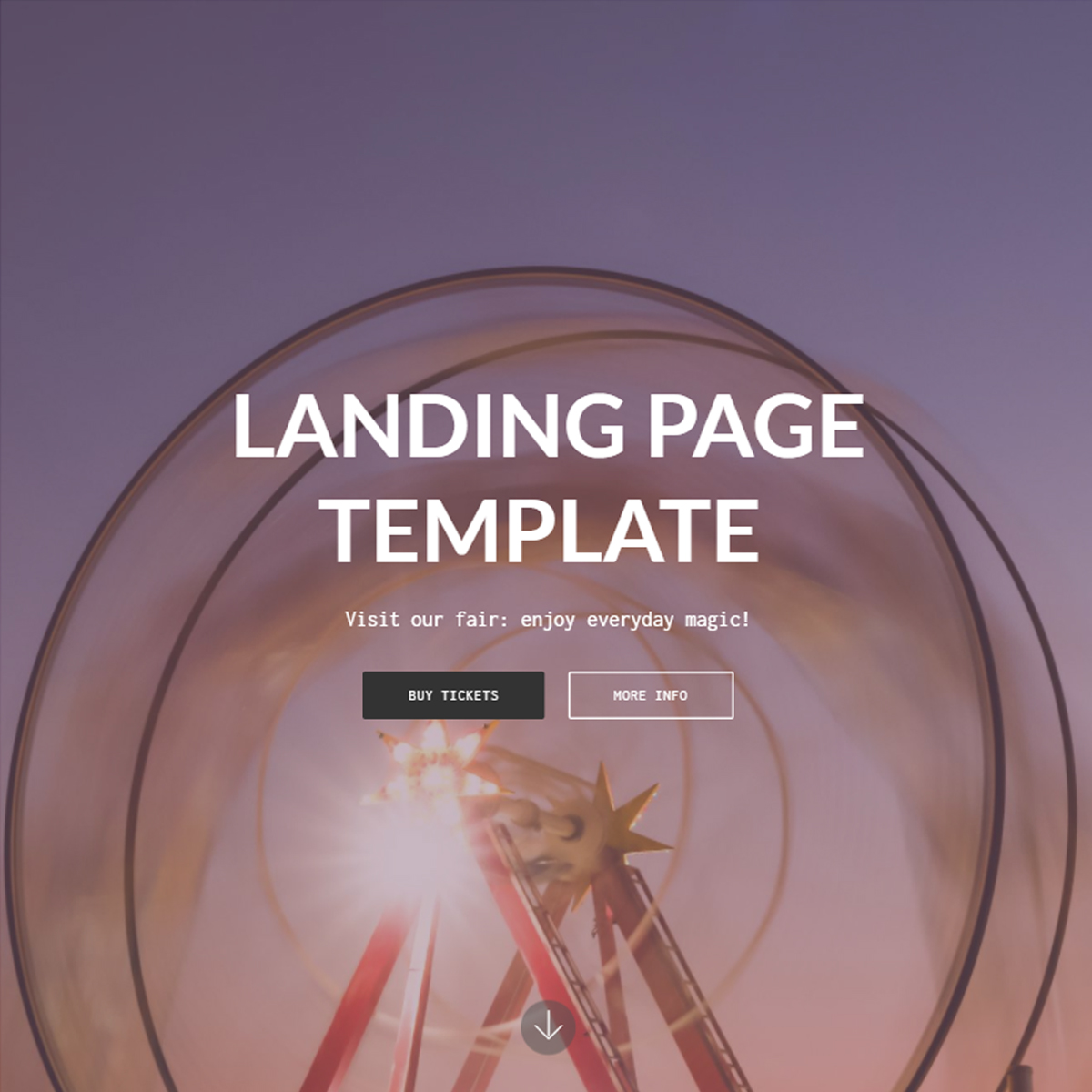 Free Bootstrap Landing Themes