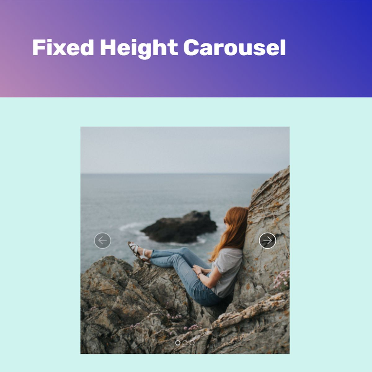 jQuery Bootstrap Photo Slider