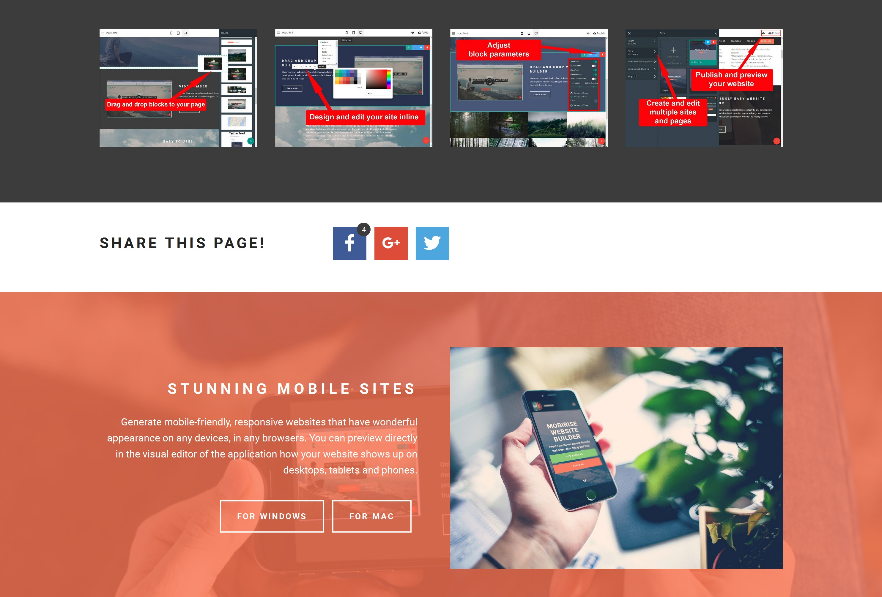 Drag and Drop Simple Website Creator Review