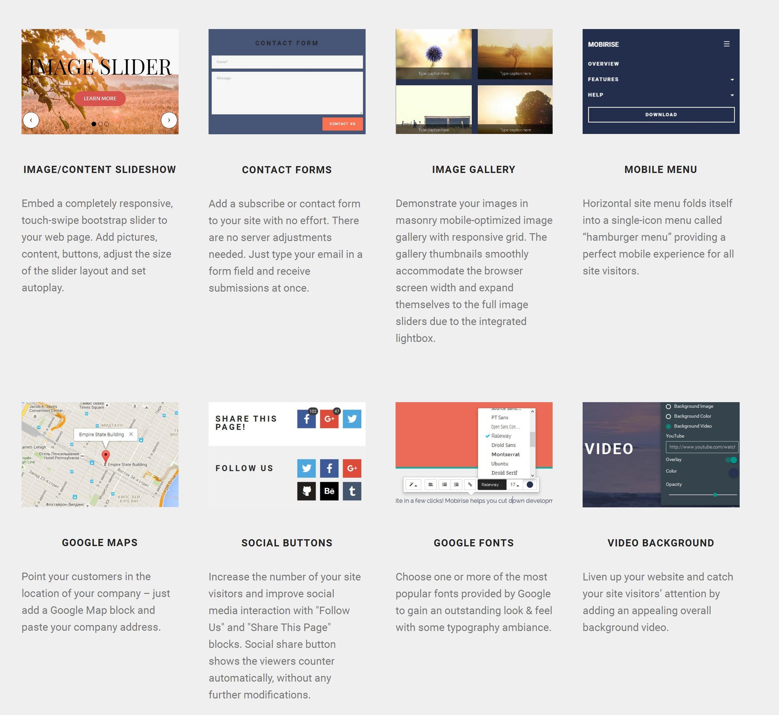 Mobile Simple Website Creator