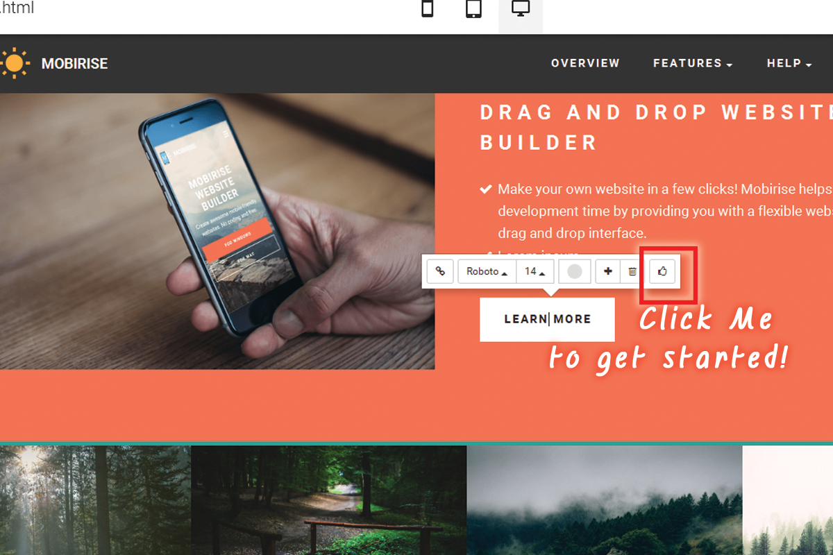 Easy Drag and Drop Web Making Software Download