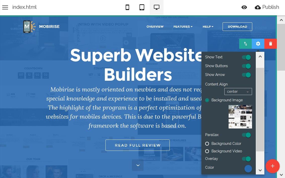 HTML5 Web Editor