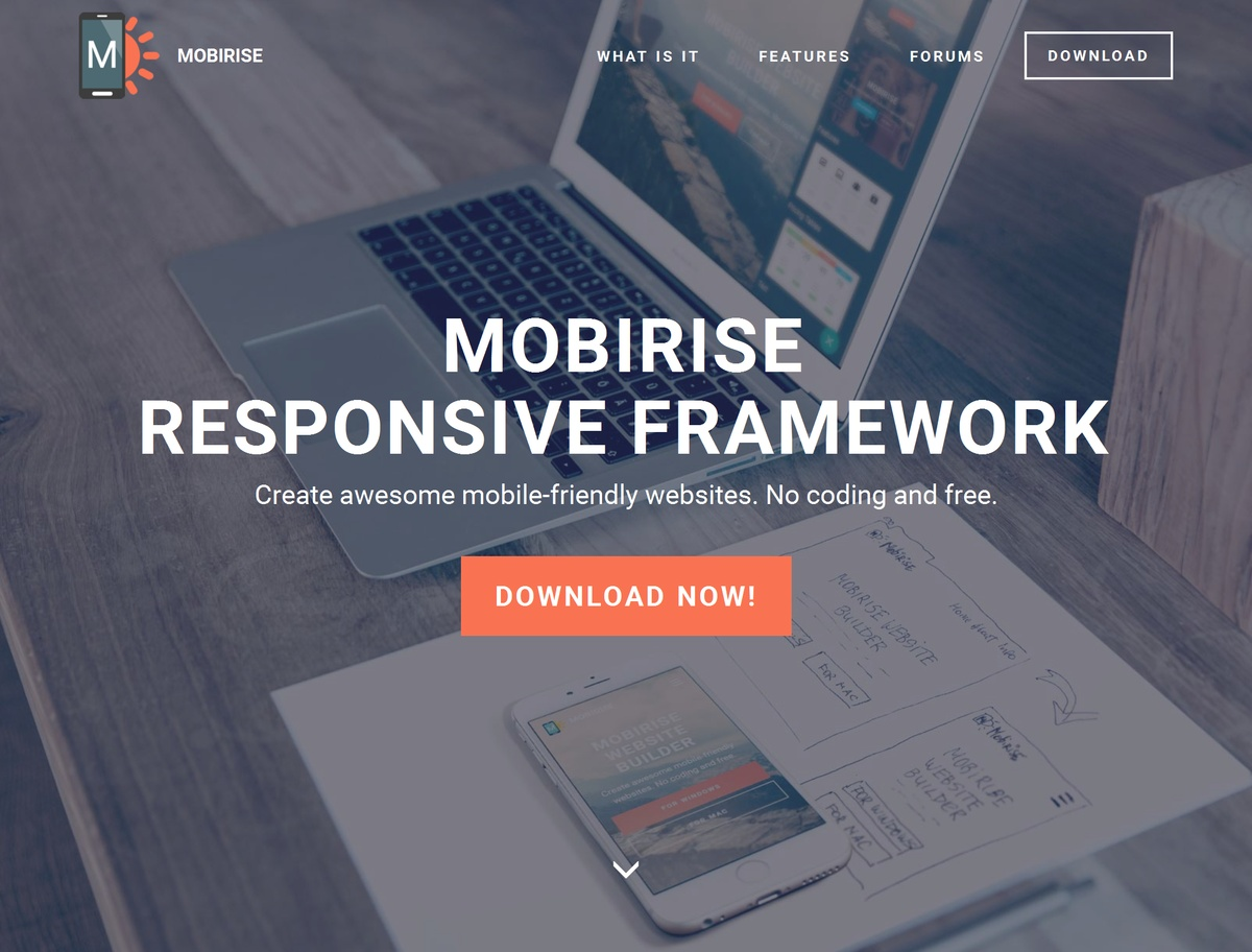 Simple Responsive Site Template