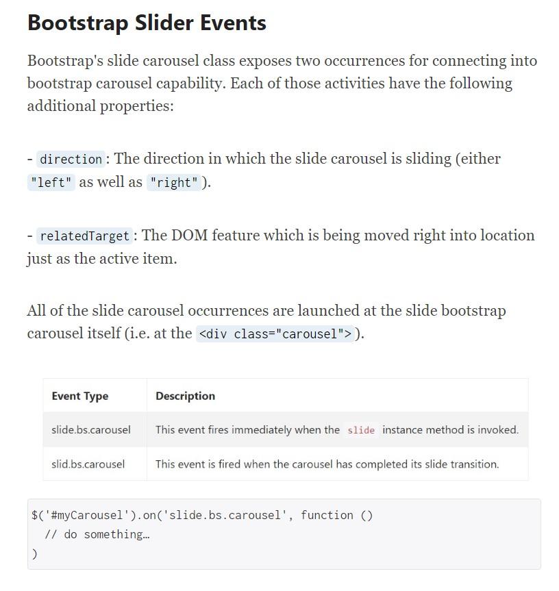 Bootstrap Slider Js