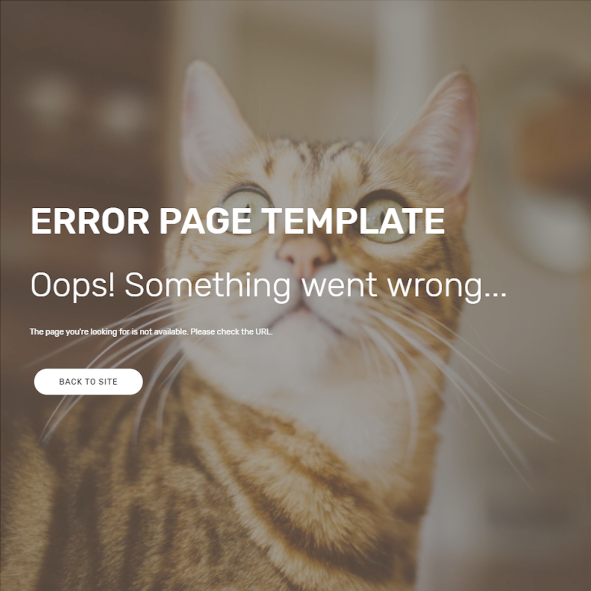 Free Download Bootstrap Error Themes