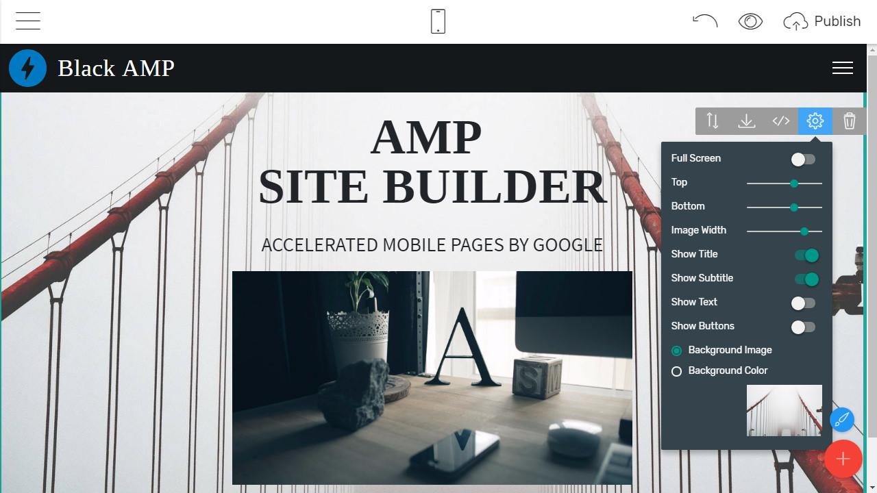 AMP Webpage Creator