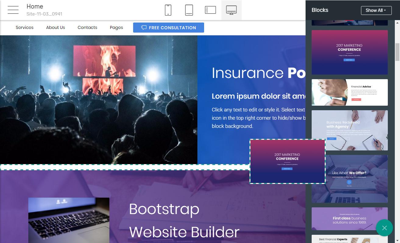 Responsive Website Software
