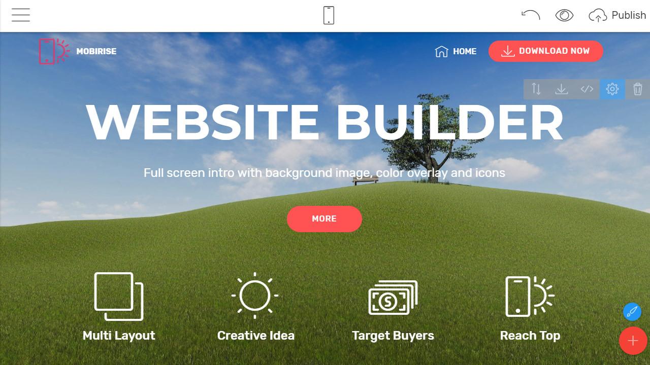 web page creator